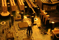 Photo of circuit board
