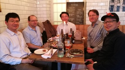 Dinner with Prof. Chen